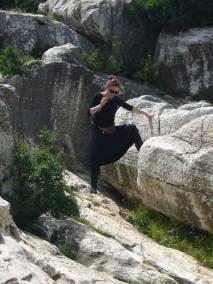 Elisabeth Katz auf Naxos1